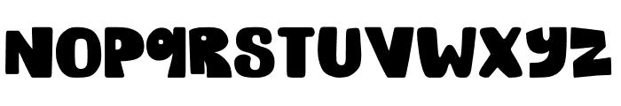 TIGERYEN Font LOWERCASE