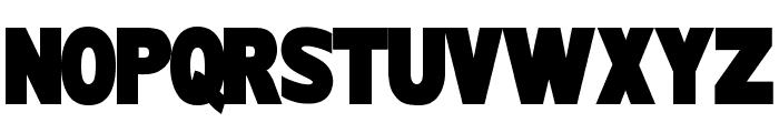 TINTIN 3D Font UPPERCASE