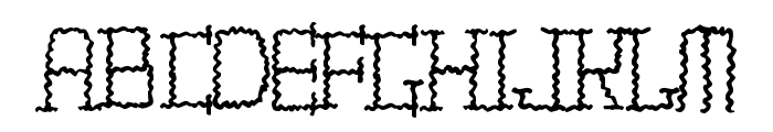 TIRITONA REGULAR Font UPPERCASE
