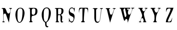 Tidelag Font UPPERCASE