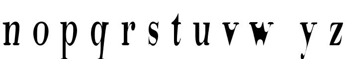 Tidelag Font LOWERCASE