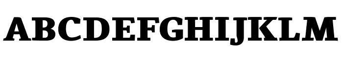 Tienne Black Font UPPERCASE