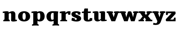 Tienne Black Font LOWERCASE