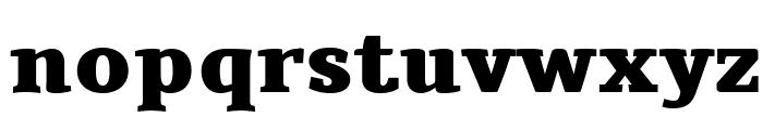 Tienne-Heavy Font LOWERCASE