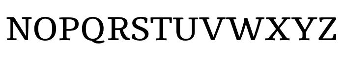 Tienne Regular Font UPPERCASE