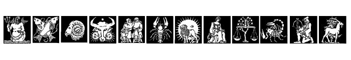 Tierkreis 1 Font LOWERCASE