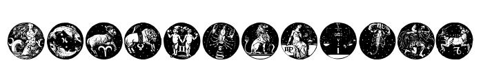 Tierkreis 5 Font LOWERCASE