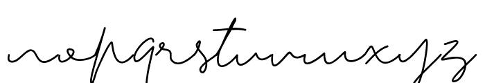 Tiffany Script Font LOWERCASE