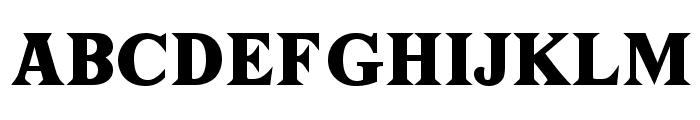 Tiffany Font UPPERCASE