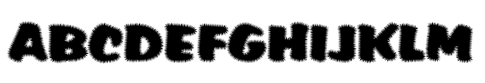 Tiffy Font UPPERCASE