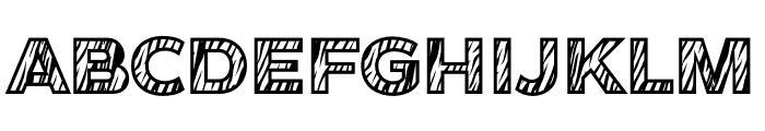 Tiger Font UPPERCASE