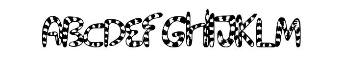 TigerTails Font UPPERCASE