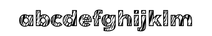 Tiger Font LOWERCASE