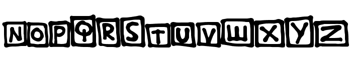 TightBox Font UPPERCASE