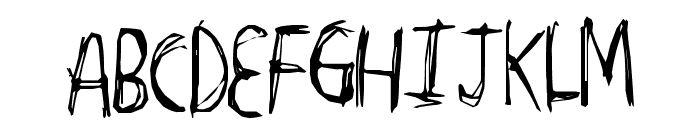 TightCarve Font UPPERCASE