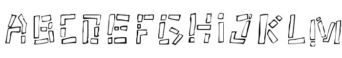 Tikitype Regular Font LOWERCASE