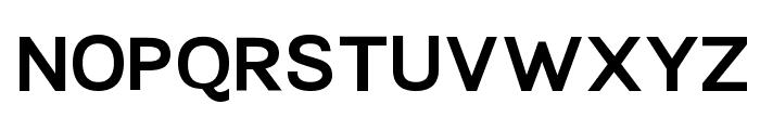 TikusPutih-bold Font UPPERCASE