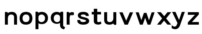 TikusPutih-bold Font LOWERCASE