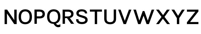 TikusPutih-semibold Font UPPERCASE