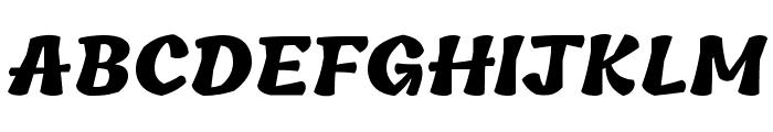 Tillana ExtraBold Font UPPERCASE