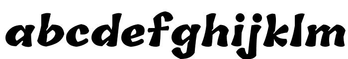 Tillana ExtraBold Font LOWERCASE