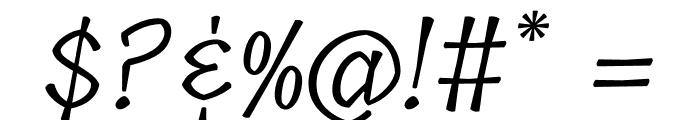 Tillana Regular Font OTHER CHARS