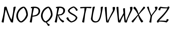 Tillana Regular Font UPPERCASE