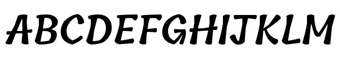 Tillana SemiBold Font UPPERCASE