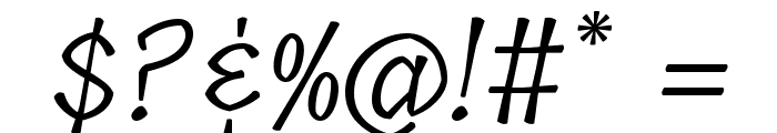 Tillana Font OTHER CHARS