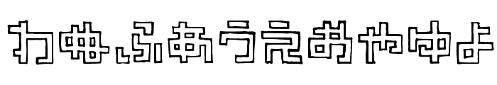 TimberHR Font OTHER CHARS