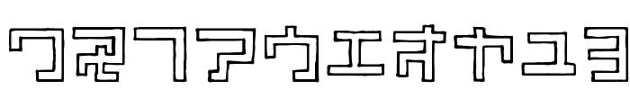 TimberKT Font OTHER CHARS