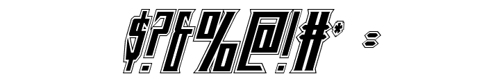 Timberwolf Academy Italic Font OTHER CHARS