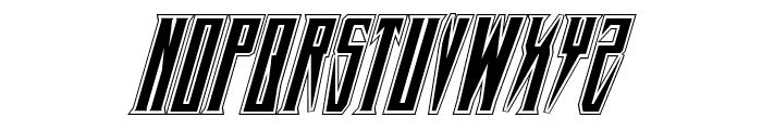 Timberwolf Academy Italic Font LOWERCASE