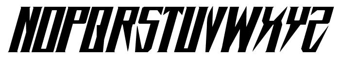 Timberwolf Extra-expanded Italic Font LOWERCASE