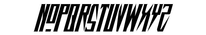Timberwolf Italic Font UPPERCASE