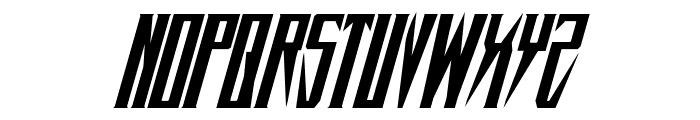 Timberwolf Italic Font LOWERCASE