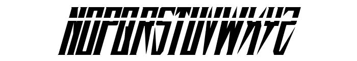 Timberwolf Laser Italic Font LOWERCASE
