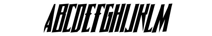 Timberwolf Rotalic Font LOWERCASE