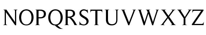 Timeless-Normal Font UPPERCASE