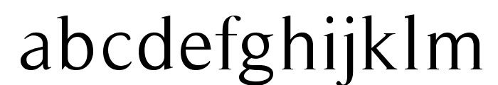 Timeless-Normal Font LOWERCASE