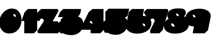 Timepiece 3D BackFill Font OTHER CHARS