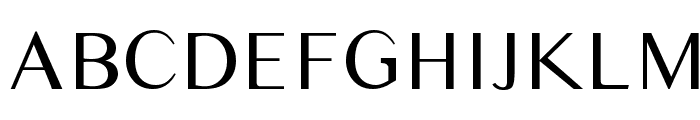 Times Sans Serif Font UPPERCASE