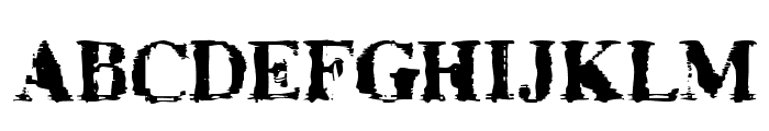 TimesNoRoman Font UPPERCASE