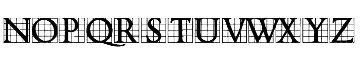 Timesnow Font UPPERCASE