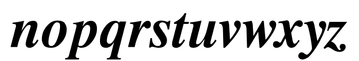 Timok Bold Italic Font LOWERCASE