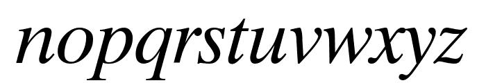 Timok Italic Font LOWERCASE