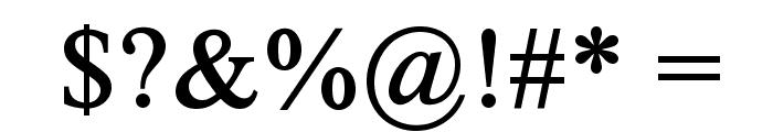 Timoroman Alternative Bold Font OTHER CHARS