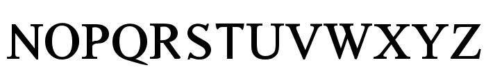 Timoroman Bold Font UPPERCASE