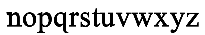 Timoroman Bold Font LOWERCASE
