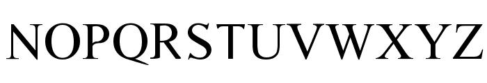 Timoroman Font UPPERCASE